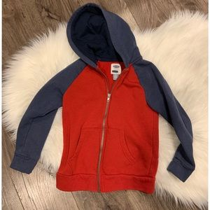 Boys Old Navy Zipper Hoodie Size 6/7